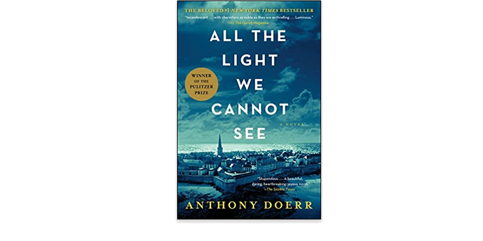 BHWC Book Club - All The Light We Cannot See by Anthony Doerr