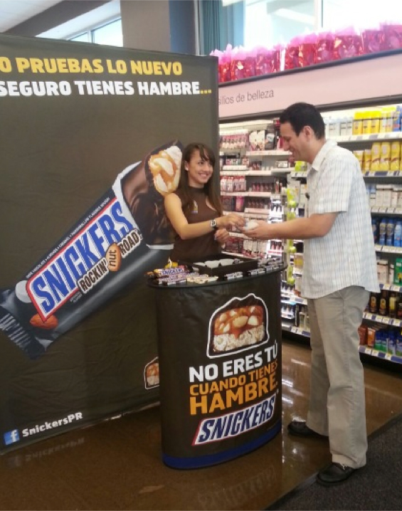 Promo Snickers