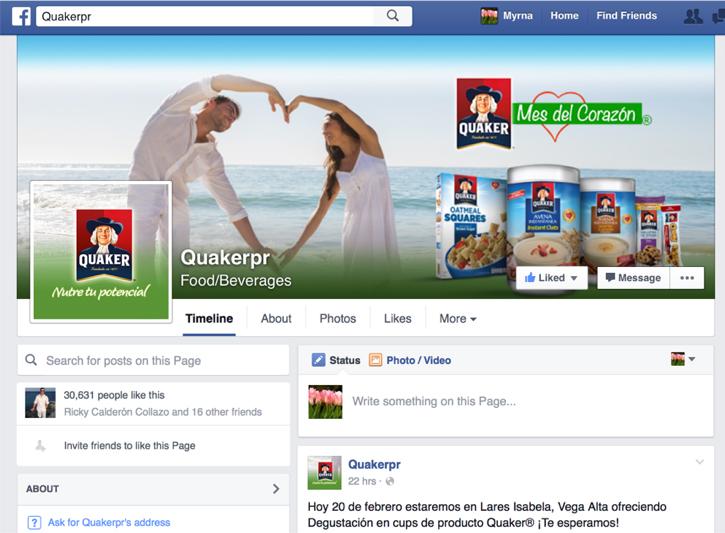 Facebook Quaker