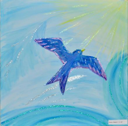 Синяя птица Вlauer Vogel