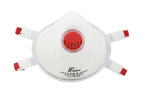 FFP3 Cup Shape anti-virus Respirator Mask With Valve ( Pack 5 )