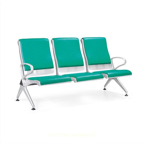 3-seater chair metal airport reclining chair hospital chair
