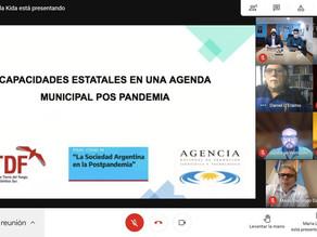 EL MUNICIPIO Y LA UNTDF TRABAJARÁN EN INVESTIGACIÓN SOBRE LAS CAPACIDADES ESTATALES EN LA PANDEMIA