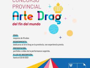 CONCURSO PROVINCIAL DE ARTE DRAG DEL FIN DEL MUNDO!