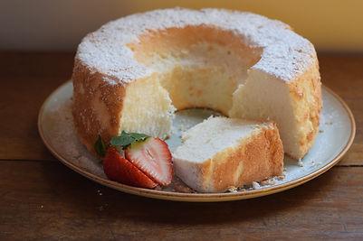 ¡ÁNGEL FOOD CAKE DE VAINILLA!