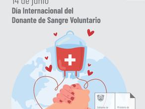EL BANCO DE SANGRE DEL HRU DESTACA EL ESFUERZO DE LOS DONANTES VOLUNTARIOS DE SANGRE