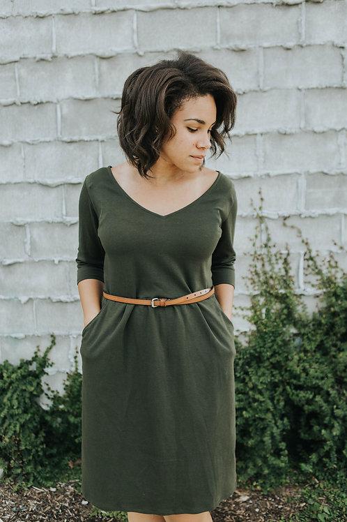 Meridan Knit Dress Downloadable PDF