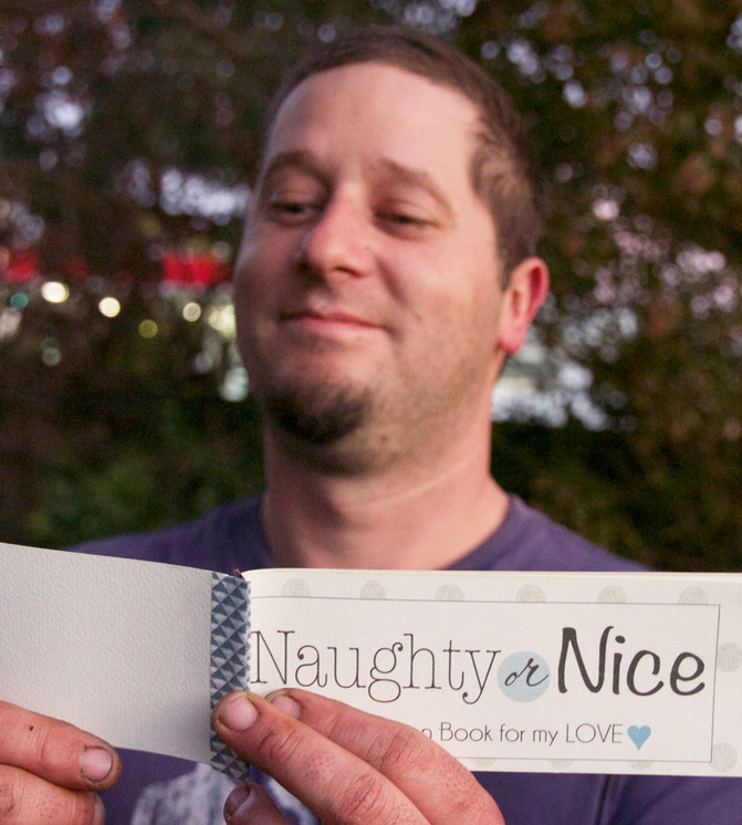 Project Made: Naughty or Nice Coupon Book for Hubby