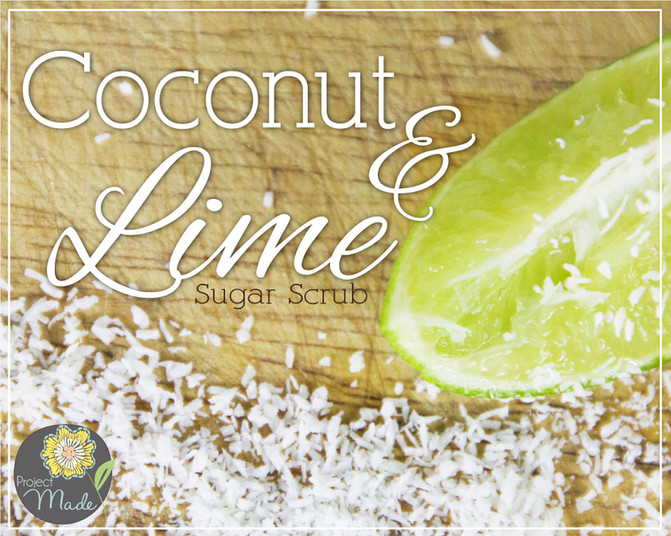 Project Made: DIY Spa Kit with Coconut Lime Scrub