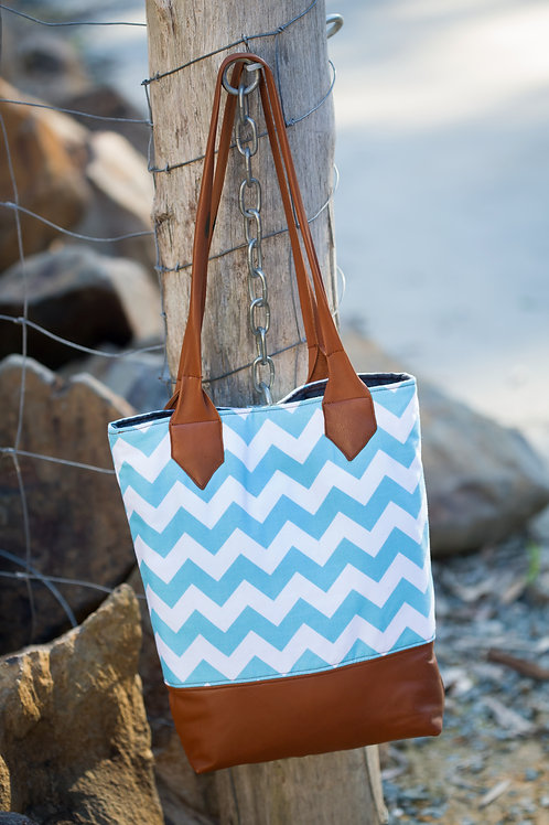 Urban Outlook Leather Tote
