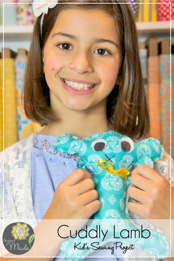 Project Made: Kid Sewing Project for New Borns