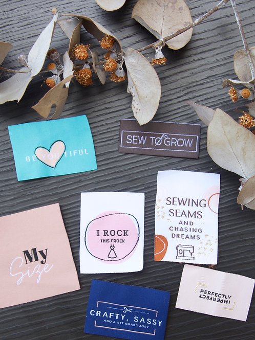 Woven Garment Sew-In Labels
