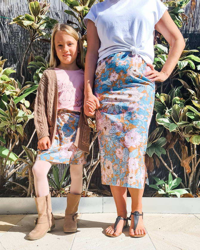 The Beginner Sewist - The perfect skirt for a beginner