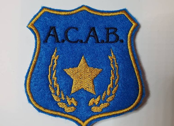A.C.A.B. Shield Patch