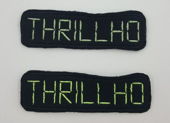 Thrillho Gamer Glow in the Dark Patch