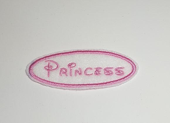 Princess Label Patch