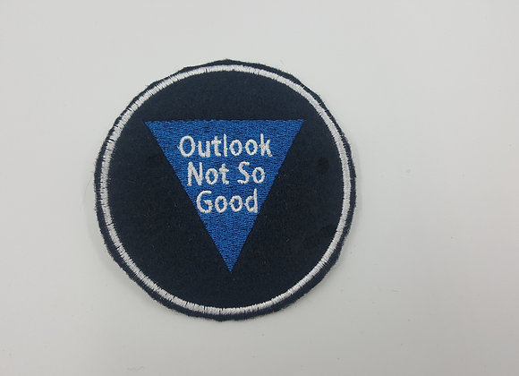 Outlook Not So Good Magic 8 Ball Patch