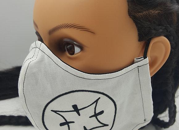 Samurai Jack Symbol Face Mask