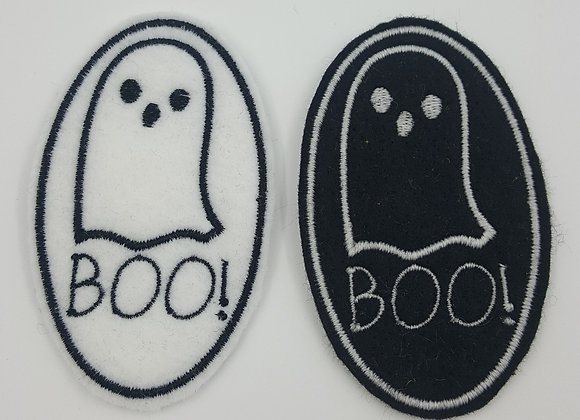 Boo Ghost Patch Glow in the Dark