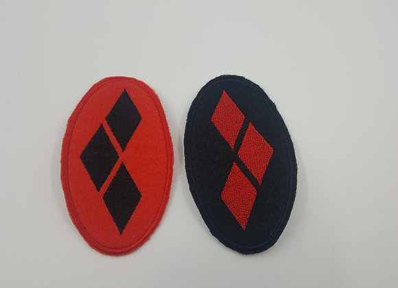 Harley Quinn Diamonds Patch