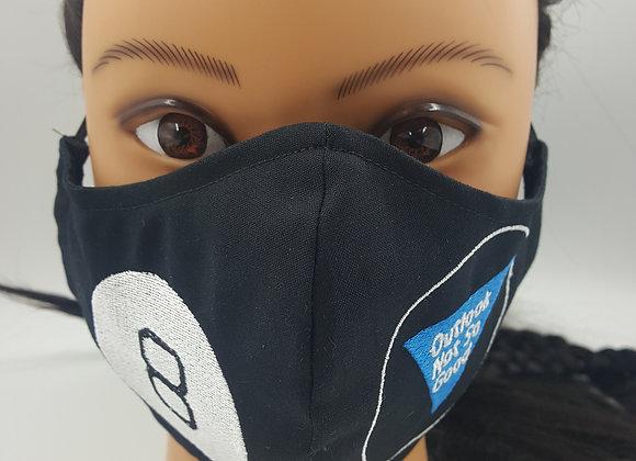 Outlook Not So Good Magic 8 Ball Mask