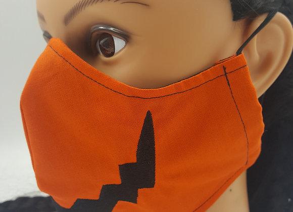 Jack o Lantern Face Mask