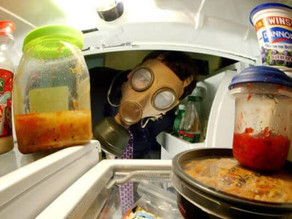 What the h*ll is in the office fridge? It stinks!