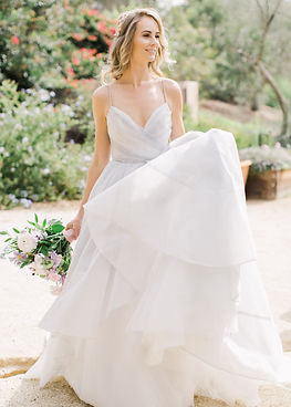 Hayley Paige at Rancho Santa Fe Valencia North County San Diego wedding styled shoot by a collaboration of San Diego wedding planners and event coordinators