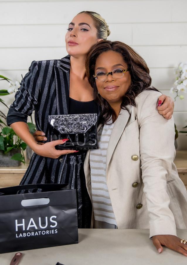 Oprah and Lady Gaga