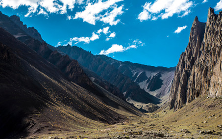 Ladakh contrasts