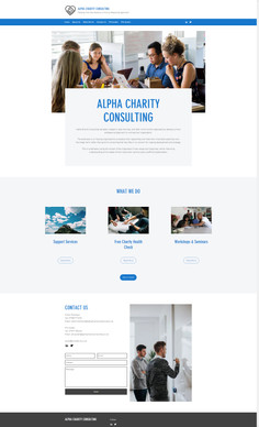 Alpha Charity Consulting appoints Benesse UK to develop its website