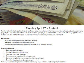 Benesse UK offers one-day Fundraising workshop on 3 April