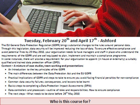 Benesse UK offers one-day Understanding GDPR workshops in February and April