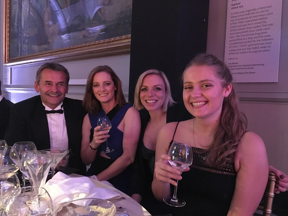 Benesse UK attends Team GB Ball