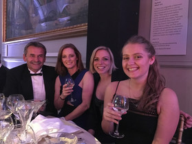 Benesse UK team meets Olympians at Team GB Ball
