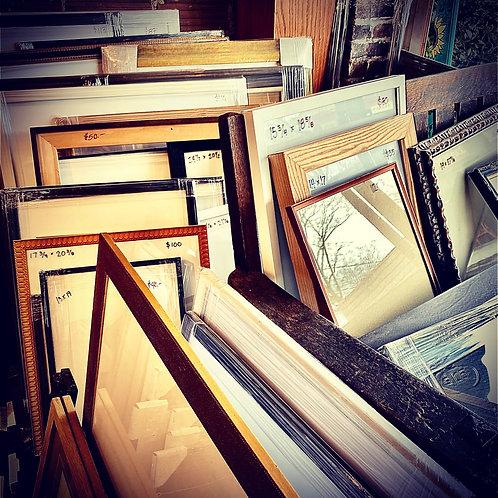 Vintage and Reclaimed Frames