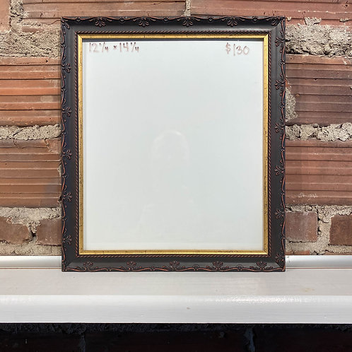 Reclaimed Frame Decorative Red Undertone