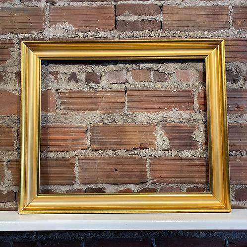 Reclaimed Frame Gold Scoop