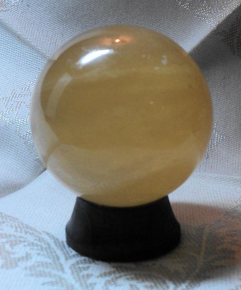 Imperial Gold Calcite Spheres  #108