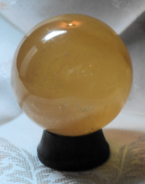 Imperial Gold Calcite Spheres  #211