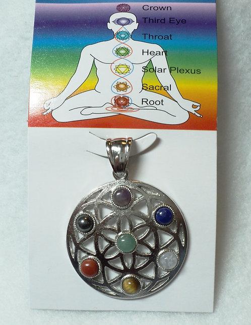Chakra Pendant/Flower of Life