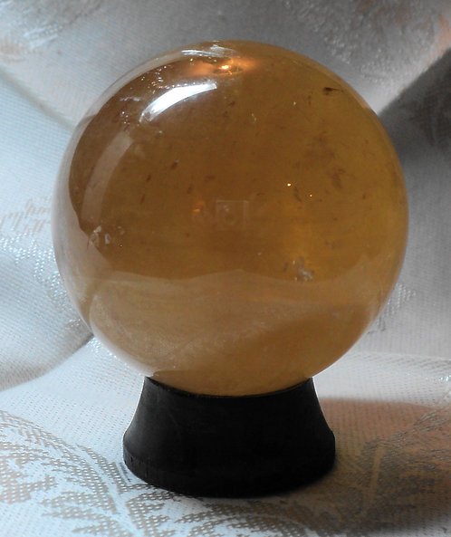 Imperial Gold Calcite Spheres  # 302