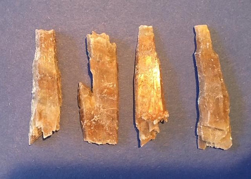 Golden Selenite 4pcs