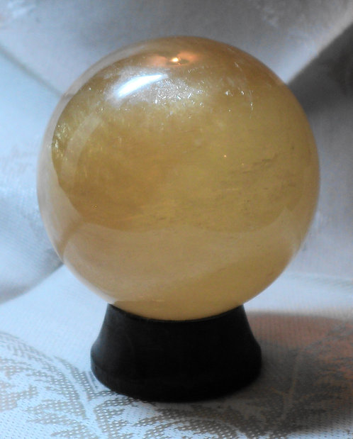 Imperial Gold Calcite Spheres  #213