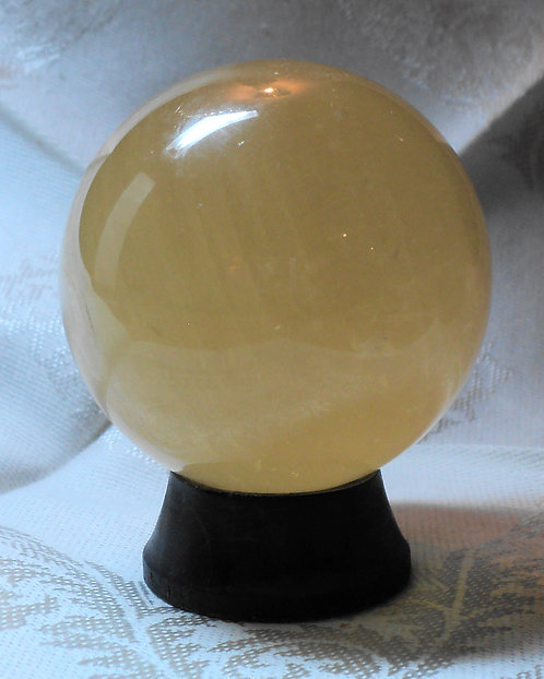 Imperial Gold Calcite Spheres  #209