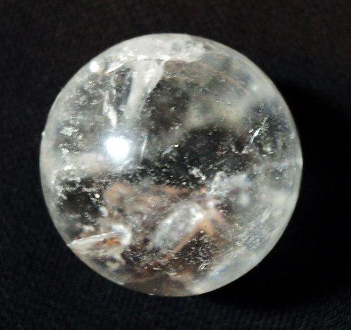 Lemurain Seed Quartz Sphere