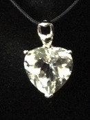 Russian Lemurian Crystal Heart