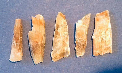 Golden Selenite 5pcs