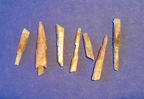 Golden Selenite needles 7pcs