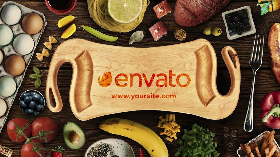Food Logo Reveal